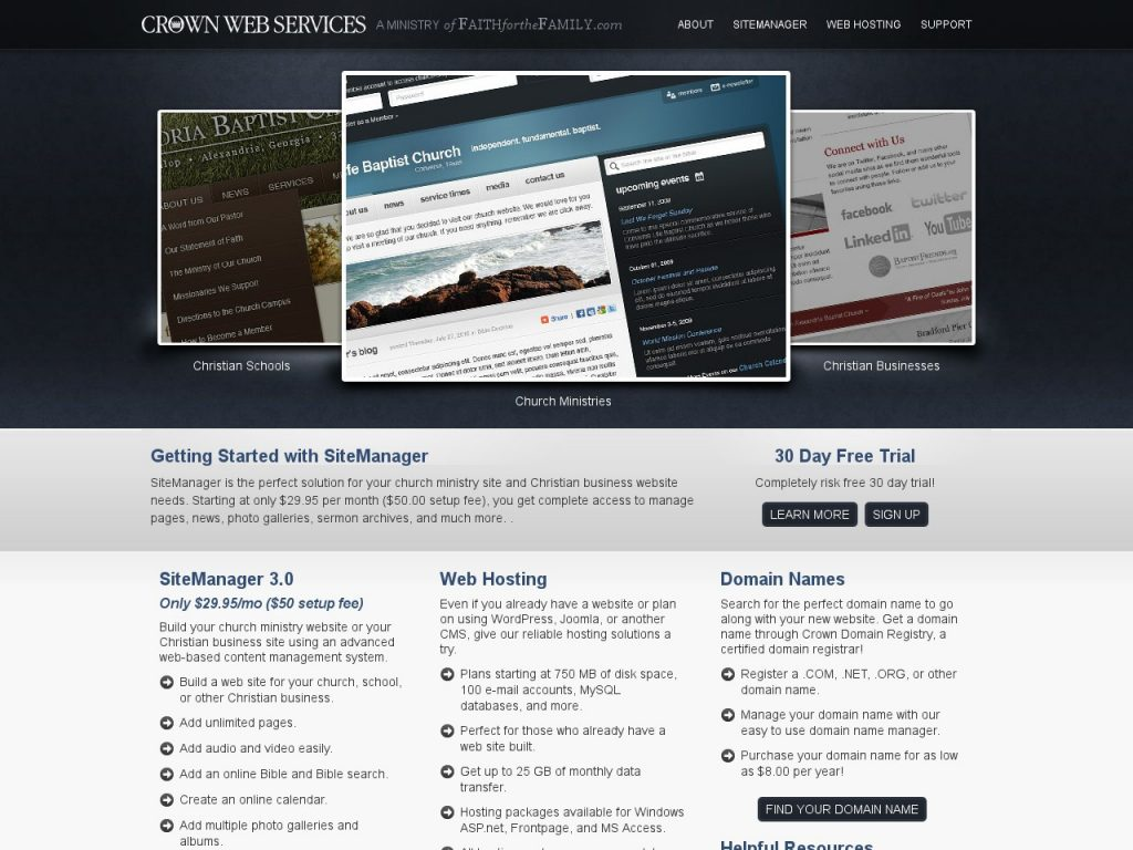 Crown Web Service